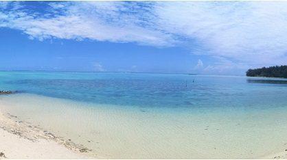 Moorea – A vendre Terrain bord de mer, plage ancien Club Med face au Motu